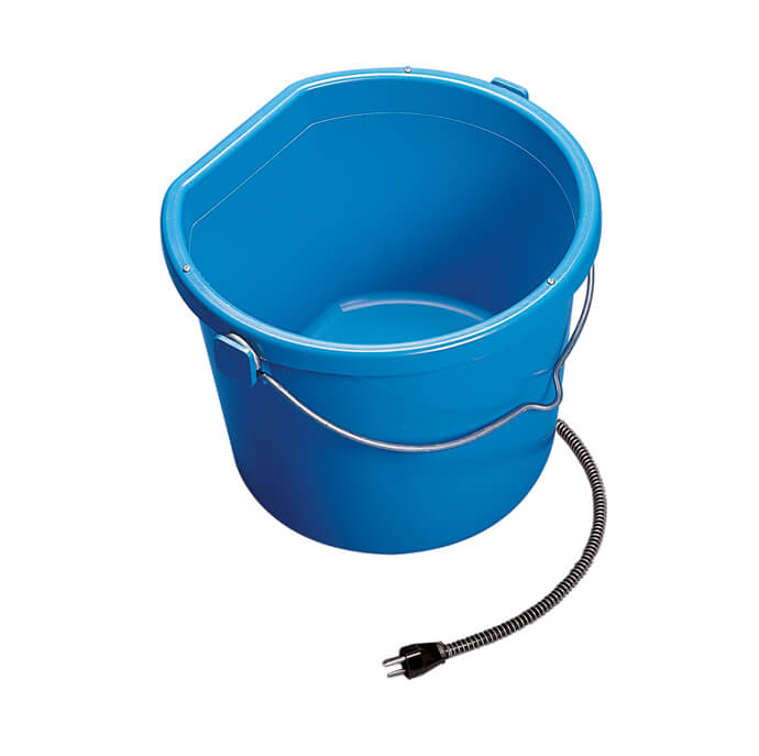 Allied Precision Heated 5 Gallon Flat-Back Bucket