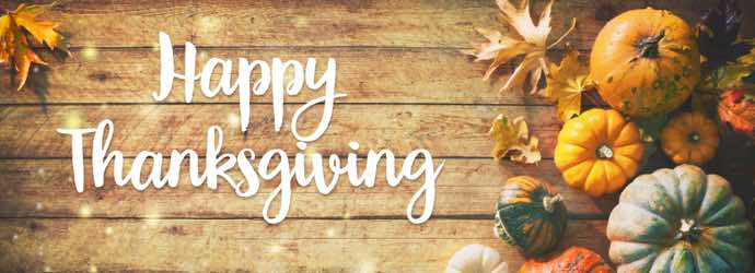 Happy Thanksgiving from Standlee Premium Western Forage®